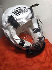 Warrior Head Gear - White (Youth-Medium) by Macho SF