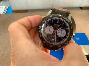Tag Heuer Connected 46mm Titanium 2018 - Model SAR8A80 - Leather Strap