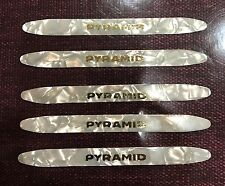 5 Professional Oud Picks Oud Plectrum pick Risha PYRAMID WHITE made in German.