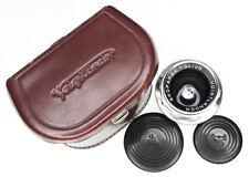 Voigtlander 35mm f3.4 Skoparex Close Focus version DKL mount #6928575 .... Minty