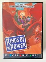 Sega Mega Drive Game - Rings of Power - Complete & boxed with manual