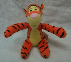 "McDonald's Winnie the Pooh MINI BENDABLE TIGGER 3"" Plush Stuffed Animal Toy"