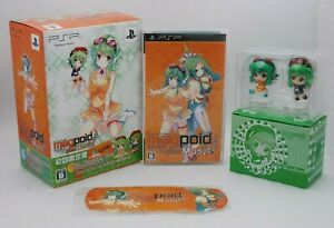 PSP Megpoid the Music # Limited Edition include GUMI Figure Japan import