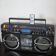 Lasonic i931 Boom Box Collectible AM FM Radio iPod USB Vintage Speakers Remote