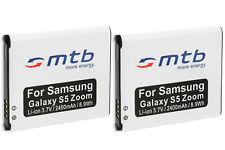 2x Batterie pour Samsung Galaxy K-Zoom / S5-Zoom