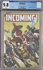 Incoming! #1 J. Scott Campbell 1:100 Wraparound Retailer Incentive Variant CGC 9