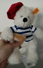 STEIFF TEDDY BEAR WITH FRENCH BAGUETTE BREAD FRENCH 2016 FINE COSMETICS GERMANY