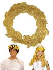 Corona d'Alloro Oro - Accessorio Costume Carnevale Romano, Greco PS 01955