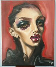 Dustin Bailard Velika Oil On Canvas original art 2016