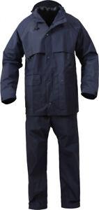 Microlite 2-Piece Rain Suit Lightweight Durable Waterproof Jacket & Pants
