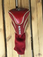 NFL San Francisco 49ers Hybrid Golf Headcover Course Club Cover