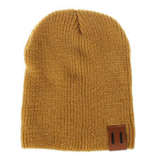 Winter Warm Mom&Newborn Kid Boy Girl Knitted Woolen Headgear Beanie Cap Hat 2018