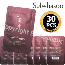 Sulwhasoo Timetreasure Extra Creamy Cleansing Foam 5ml x 30pcs (150ml)Sample New