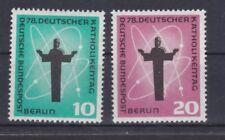Berlin 1958 postfrisch MiNr. 179-180  Deutscher Katholikentag, Berlin