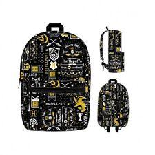Harry Potter Icon Print Hufflepuff Wizard Movie Backpack Bookbag Bag BQ5M3AHPT