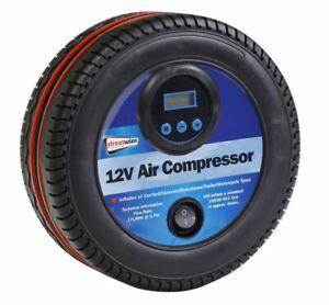 250PSI Digital Air Compressor 12V Tyre Shape Auto Shut Off