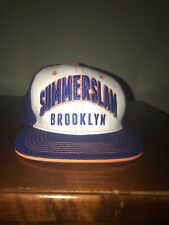 Summerslam 2017 Brooklyn Authentic WWE Snapback Baseball Hat Cap