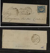 France  Ballon Monte cover  Daguerre    1870 to  Langrune        MS1103