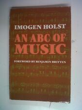 books IMOGIN HOLST an abc of music