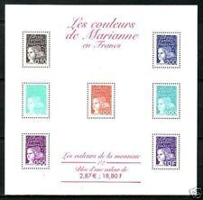 TIMBRE FRANCE BLOC N° 41 **  MARIANNES EN FRANCS 1/2