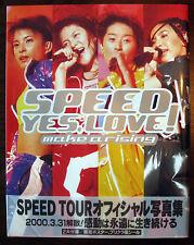 SPEED - YES, LOVE! Make A Rising Photo Book - 1998 - Japanese Idol - RARE