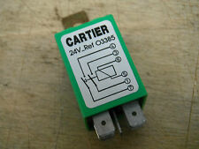 10 AMP VALEO 24V Relay G. CARTIER Ref. 643385 033850