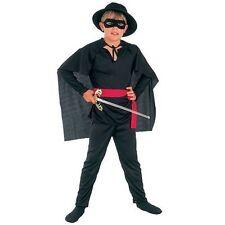 Childrens Bandit Fancy Dress Costume Lone Ranger Zorro Outfit Book Week L