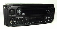 Chrysler Dodge Jeep Radio 1998-2002 AM FM CD CS iPod Input P04858540 Twin 7 RAZ