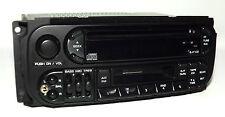 Chrysler Dodge Jeep Radio 1998-2002 AM FM CD CS iPod Input P04858540 Twin 7 RAZ