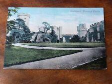 Lot22g Courtyard WARWICK CASTLE Valentine's Postcard