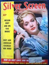 CAROLE LANDIS COVER/Silver Screen/5-42/movies/V. Lake/Dietrich/Cecil B. DeMille