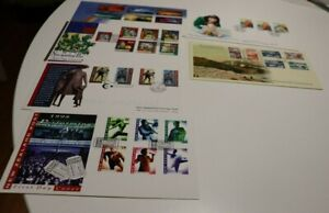 1998 NEW ZEALAND NZ FDC COVERS x 6 CHRISTMAS, ARTS,PICTORIALS,SCENIC,HEALTH,TURK