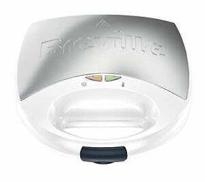 BREVILLE VST083 Sandwich Toaster -Edelstahl -750W  in Weiß ✅