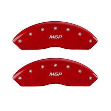 Disc Brake Caliper Cover MGP Caliper Covers 16077SMGPRD