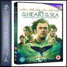 IN THE HEART OF THE SEA - Chris Hemsworth *BRAND NEW DVD***