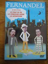DVD * LE COUP DE FIL LA PRINCESSE RUSSE LA VICOMTESSE * 3 MINI FILMS FERNANDEL