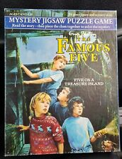 Enid Blyton Famous Five Mystery Jigsaw Puzzle Game, Complete