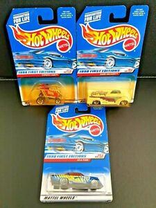 Hot Wheels 1998 First Editions Bundle - (Damaged Packaging) Unopened