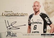 Henrik Lundström - Handball, THW Kiel, Autogramm, Autograph