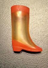 Vintage Original Barbie Francie Clear Out! #1281 One Orange & Clear Boot