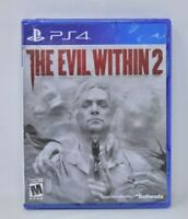 【Brand New - Sealed】 The Evil Within 2 【Sony PlayStation 4 PS4, 2017】Action Game