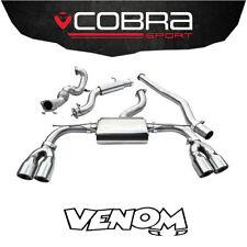 """Cobra Exhaust 3"""" Turbo Back System & (De-Cat) Audi S3 8V 3 Dr 4WD (2013>) AU54c"""