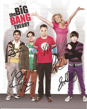 Big Bang Theory Cast Signed 8x10 Autographed Photo Reprint