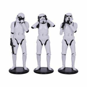 Star Wars Three Wise Stormtroopers Figurines Standing