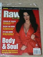 WWF MAGAZINE RAW MARCH 2000 WRESTLING CHYNA HOT COVER WWE