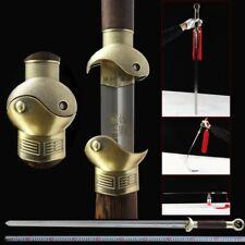 Yin-Yang fish KUNG-FU Tai-chi soft sword Martensiti stainless steel blade #241