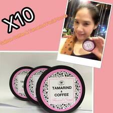 X10 Saibua Natural Thai Herb Tamarind Coffee Facial Whitening Mask & Scrub  50g.