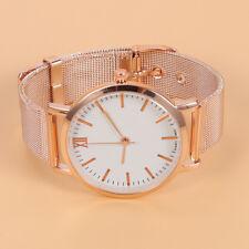 Relojes Rosa Resistente Pulsera Al Oro Agua Para De Mujer fgYb6y7v