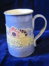 More details for royal doulton lambeth christening mug 1932