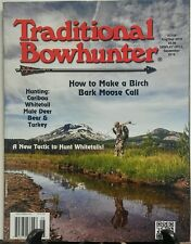 Traditional Bowhunter Aug Sept 2016 Make a Birch Moose Call FREE SHIPPING sb
